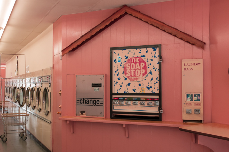 Lisa Guerriero   Pink Laundrette