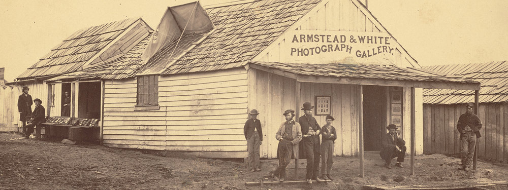 Armstead & White Photograph Gallery  (detail), 1861-1865, Armstead & White [George Armstead and Henry White], albumen silver print. The J. Paul Getty Museum