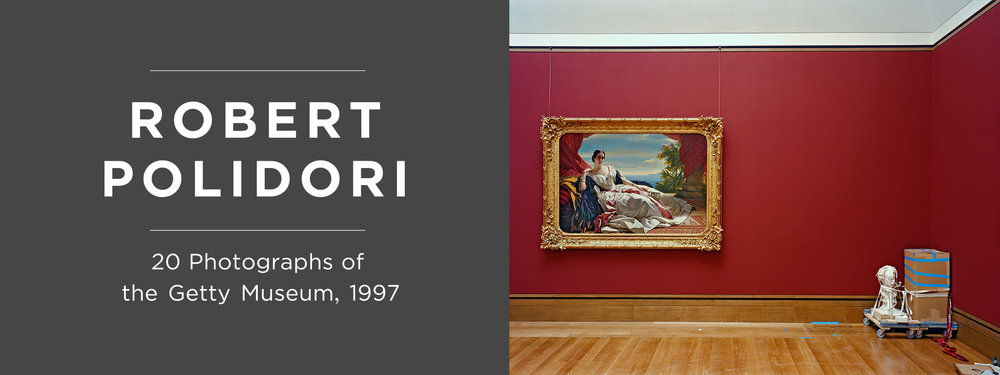 European Painting 1850–1900 Gallery, J. Paul Getty Museum , 1997, Robert Polidori, chromogenic print. Courtesy of the artist in conjunction with The Lapis Press. © Robert Polidori