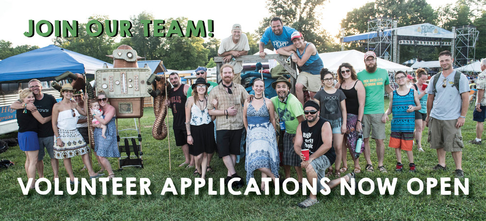 Volunteering gives festival attendees the chance to earn their 4-day ticket while being a part of an incredible team! Applicants must be able to work three shifts over the course of the weekend.