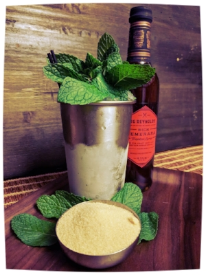 Prescription Julep with Rich Demerara syrup