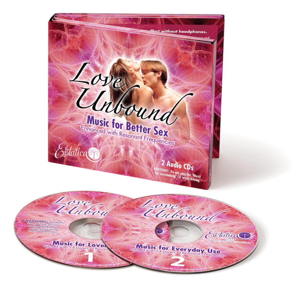 """Love Unbound"" Music for Better Sex infused with Auditory Pheromones®    What if taking your lovemaking to new heights of ecstasy and pleasure was as easy as pressing the ""PLAY"" button? Great news! Now it can be! Listen as Ellen Eatough, The Soulful Sex Coach, reveals exactly how… ( Learn more )"