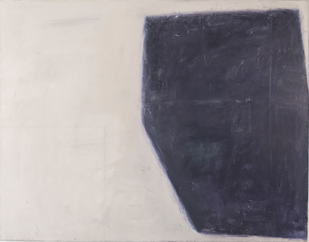 Kit Reuther,  Abstract #1381 , 2017, oil, graphite on linen, 46 x 60 inches.