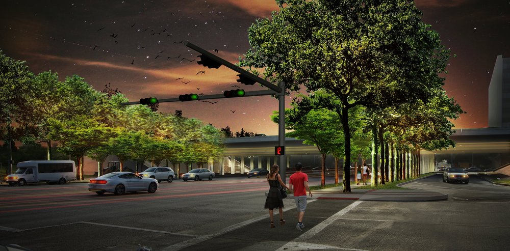 Westheimer Streetscape Corridor Improvements - Houston, Texas
