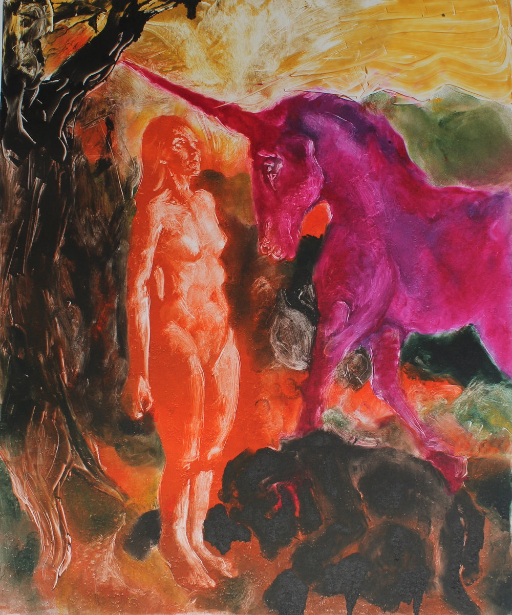 The Unicorn (After William Blake, the Horse)