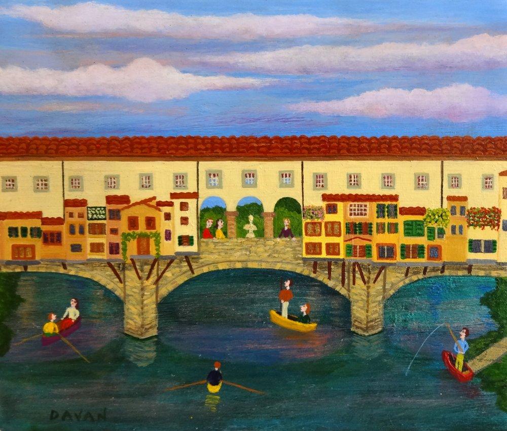 #125 Ponte Vecchio (6 x 5 in.).jpg