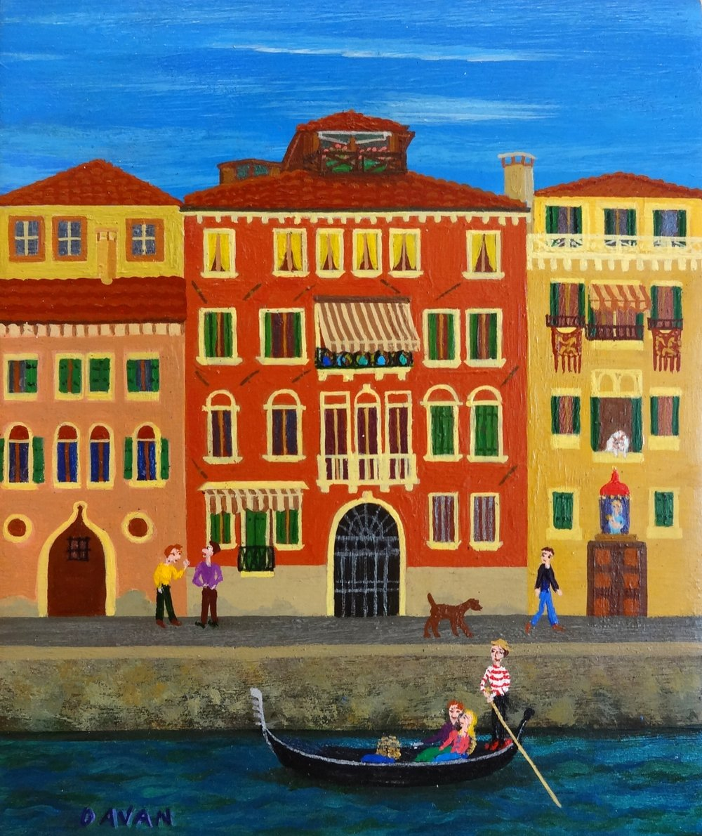 #123 Usually Italian Guys Wear Brown Shoes (Venice) (5 x 6 in.).jpg