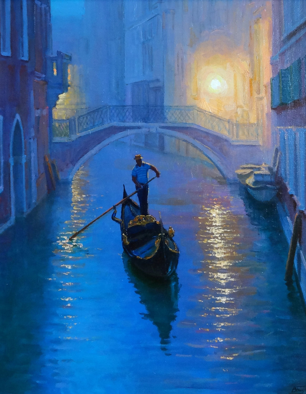 VENICE EVENING  oil, 16 x 20 in.