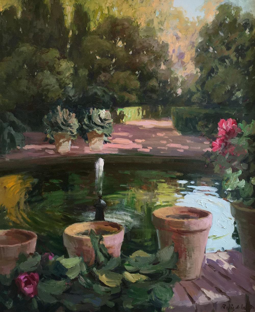 REALES ALCAZARES - SEVILLA I  oil, 24 x 30 in.