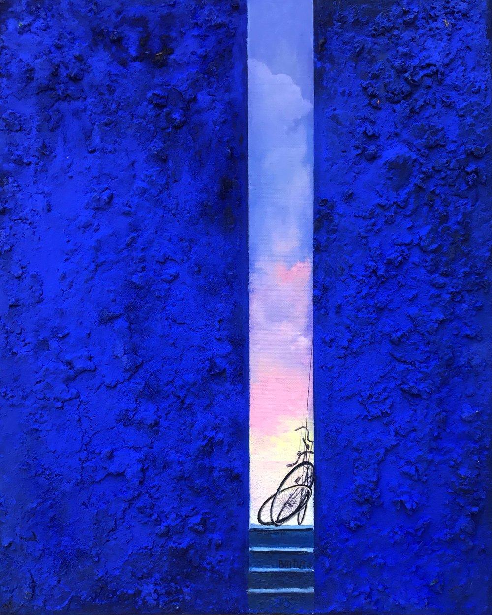 Battut #213-La Petite Ruelle- 16 x 20 unframed.jpg