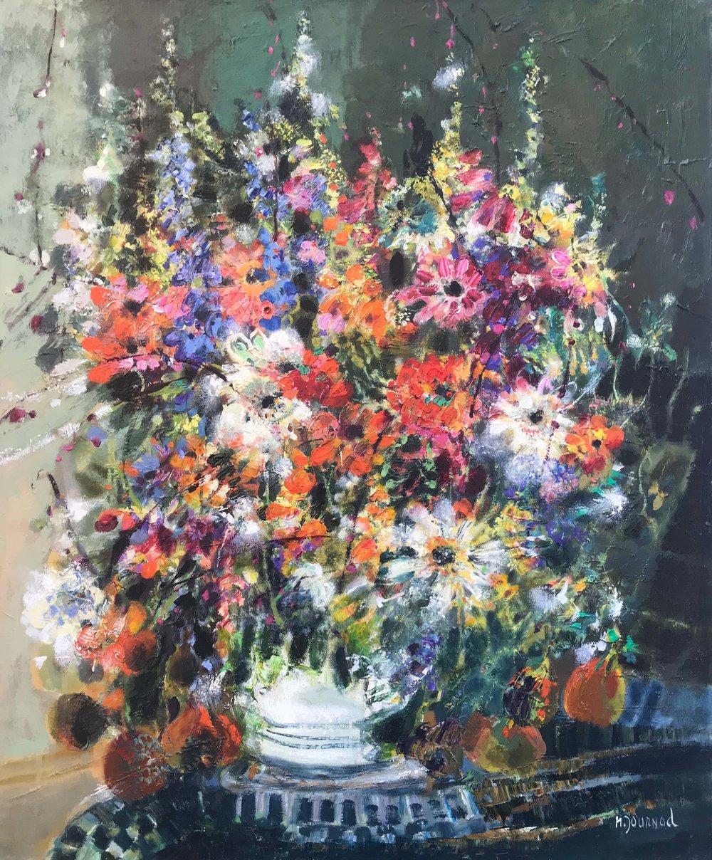 Journod-#251-Le Bouquet Jaune-24 x 29-Unframed for web.jpg