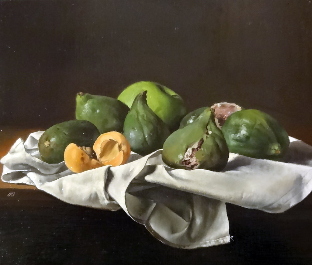 "Jean Grimal                                                 "" Les Figues""                                            10 x 12 in."