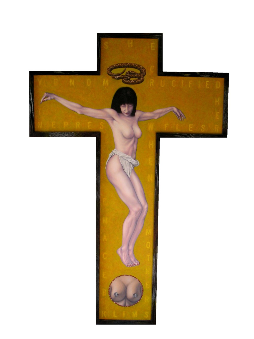 #3 Brian Cesario  she crucified herself when mother's milk became serpent venom.JPG