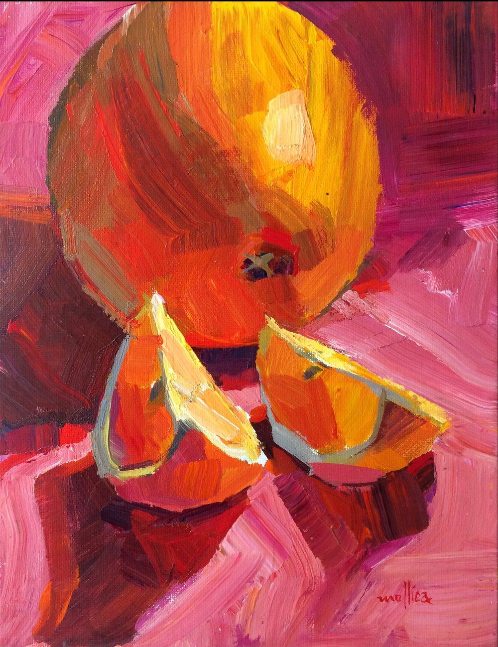 Orange on Pink 9x12%22.jpg