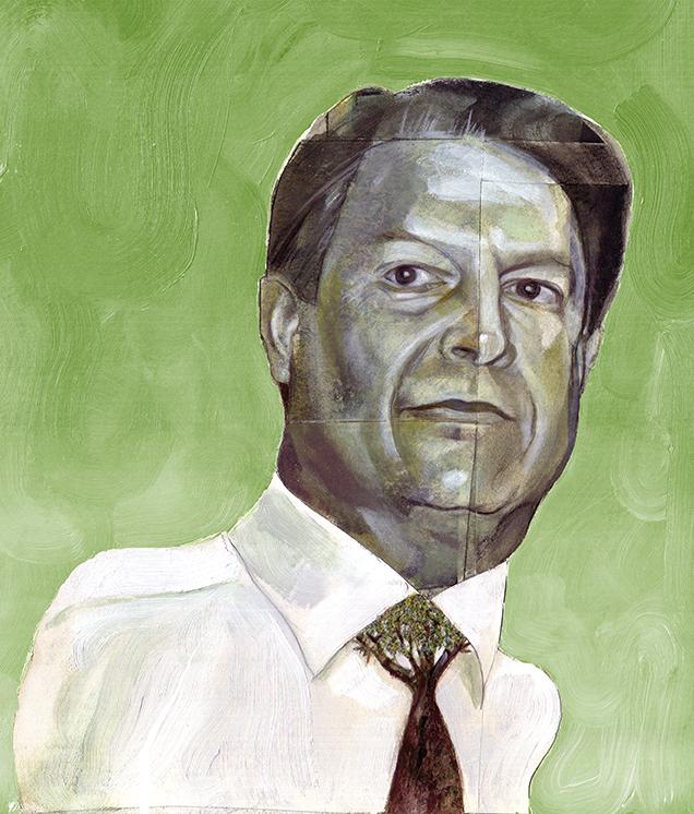 Al Gore / Benefit Magazine