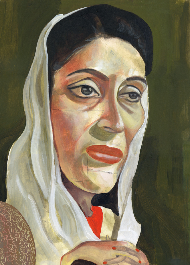 Benizir Bhutto / Newsweek