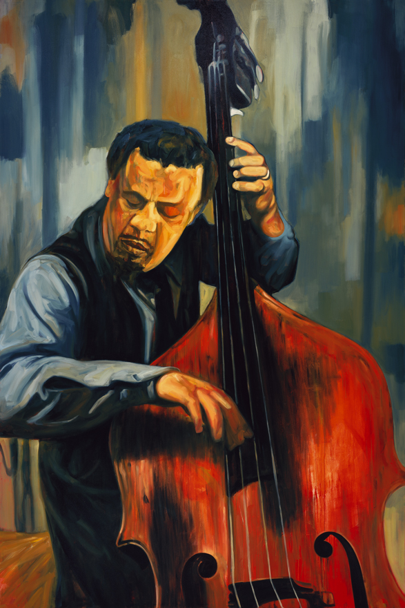 Charles Mingus / Gallery installation