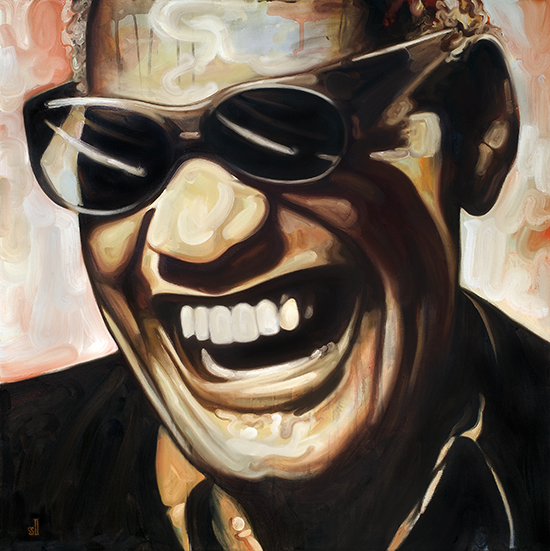 Ray Charles / Private commission