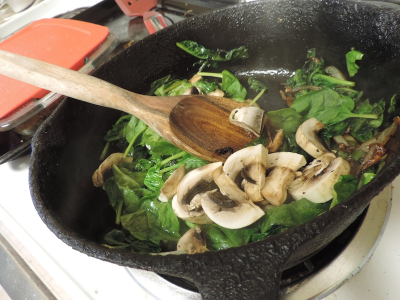 spinach and mushroom 8 6.JPG