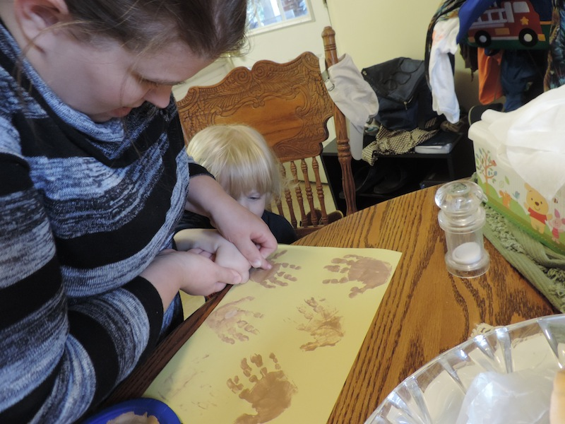 baby jesus handprints 2013.JPG