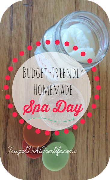 Budgetfriendly natural homemade spa day products pin2015.png