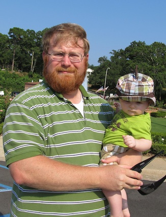 Ry and Daddy at pier.jpg