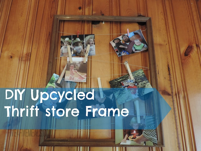 Upcycled thrift store frame.jpg