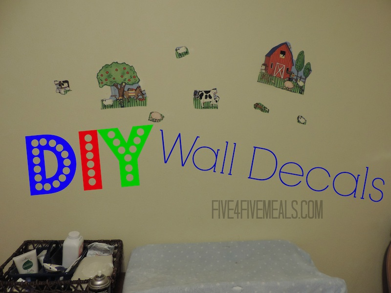 DIY Wall Decals using fabric and spray adhesive.jpg