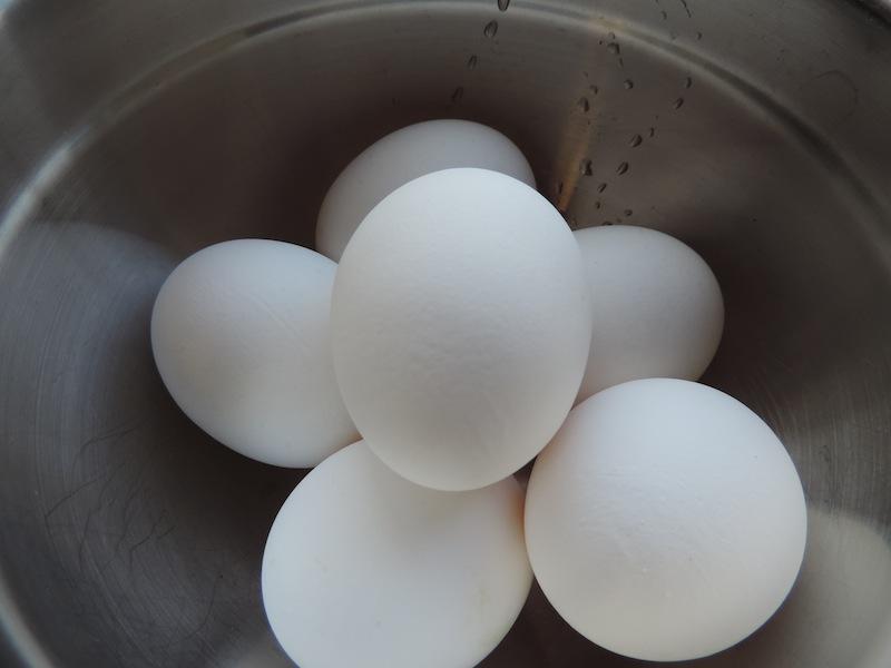 Eggs for moist crusty pound cake.JPG