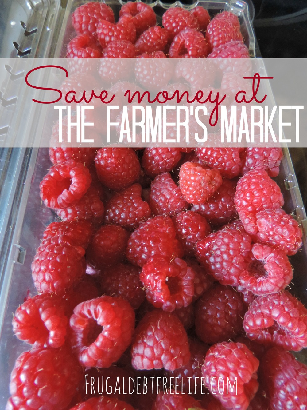 save money at the farmers market