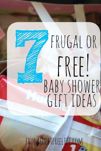7 Frugal Or Free Baby Shower Gift Ideas Frugal Debt