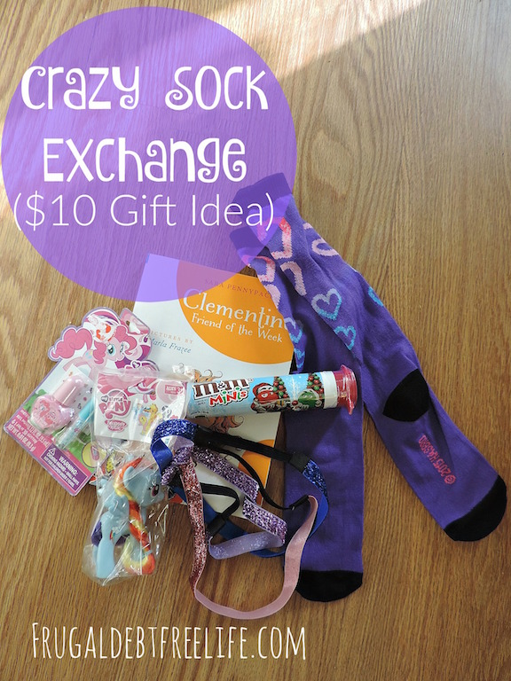 Crazy sock exchange 10 gift idea frugal debt free Good gifts for gift exchange