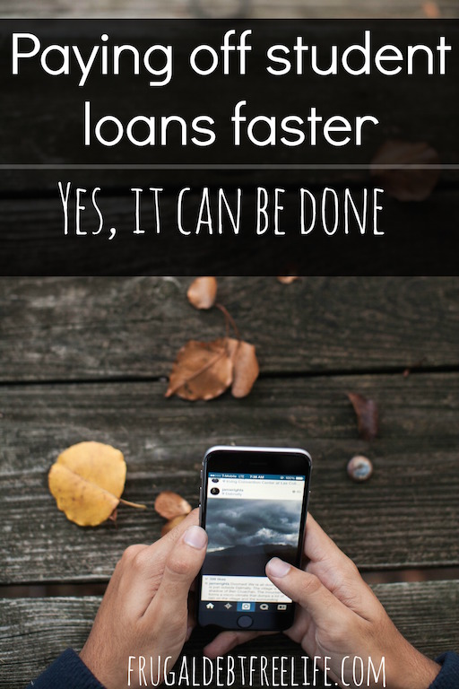 how to pay off my loans faster