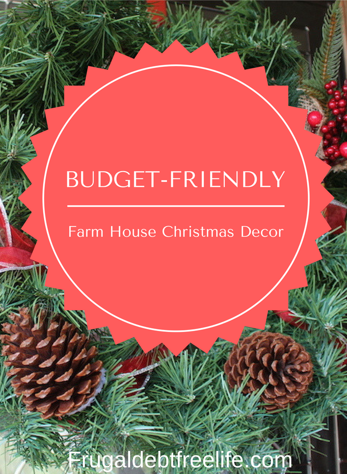 christmas decorating on a budget and see my decor - Decorating House For Christmas On A Budget