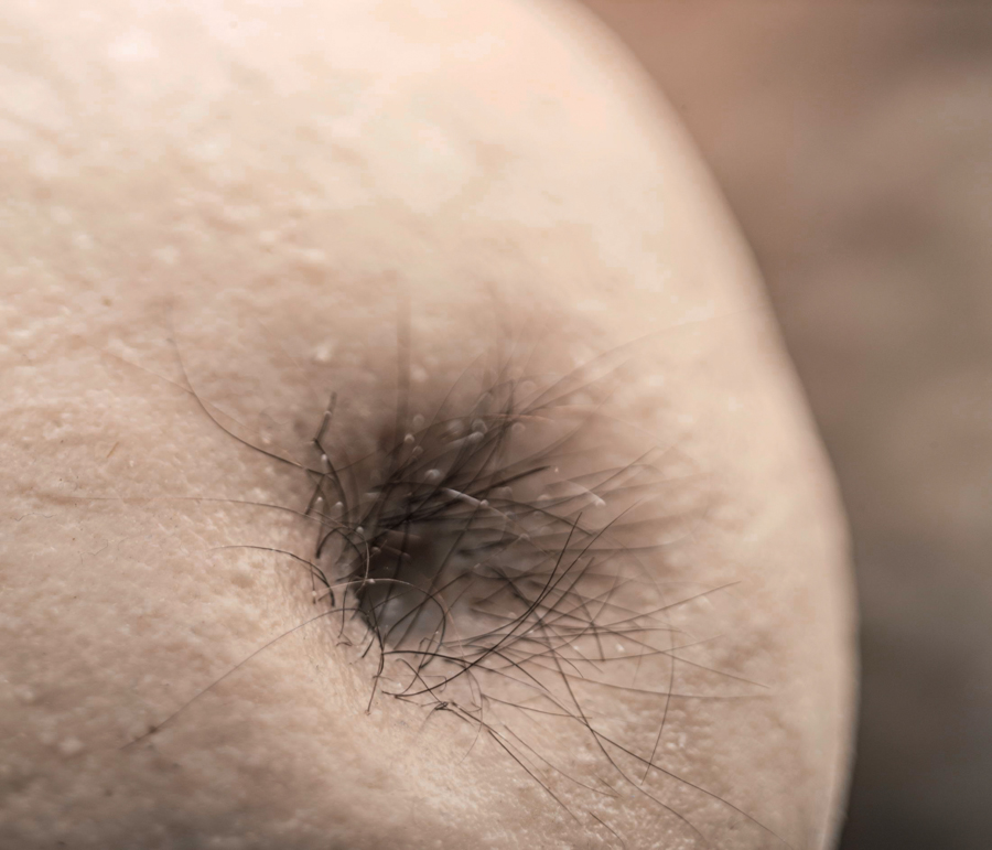 The Pears  (detail) toned silicone, plaster, human hair, 2013 @Dušan Váňa / Photo  / Photo @KIVA PHOTO