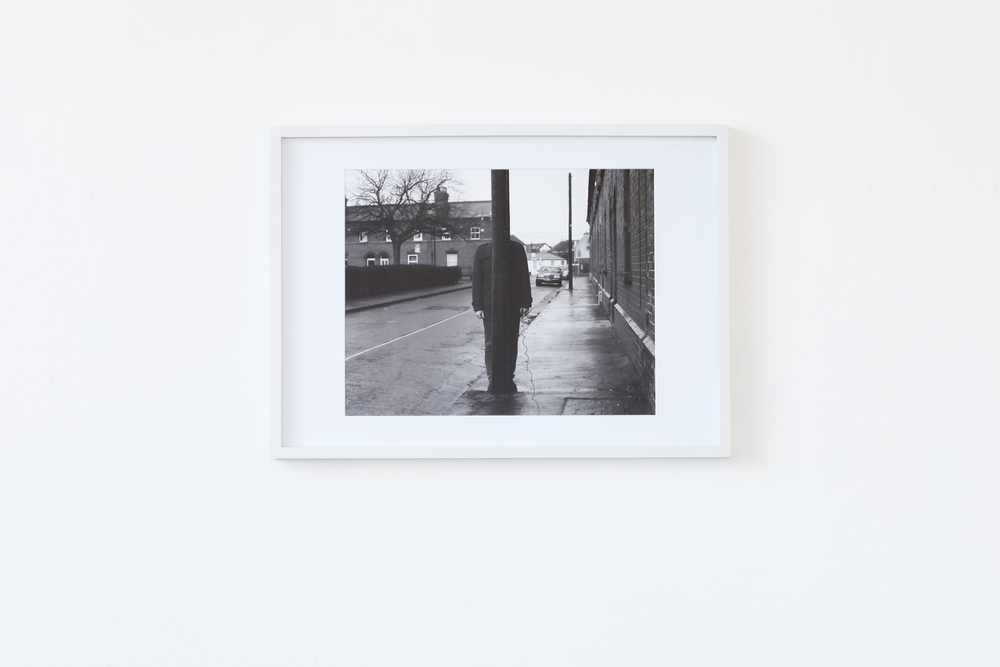 Untitled #7,  1 Archival pigment print in white frame, 2014 @Andrei Venghiac