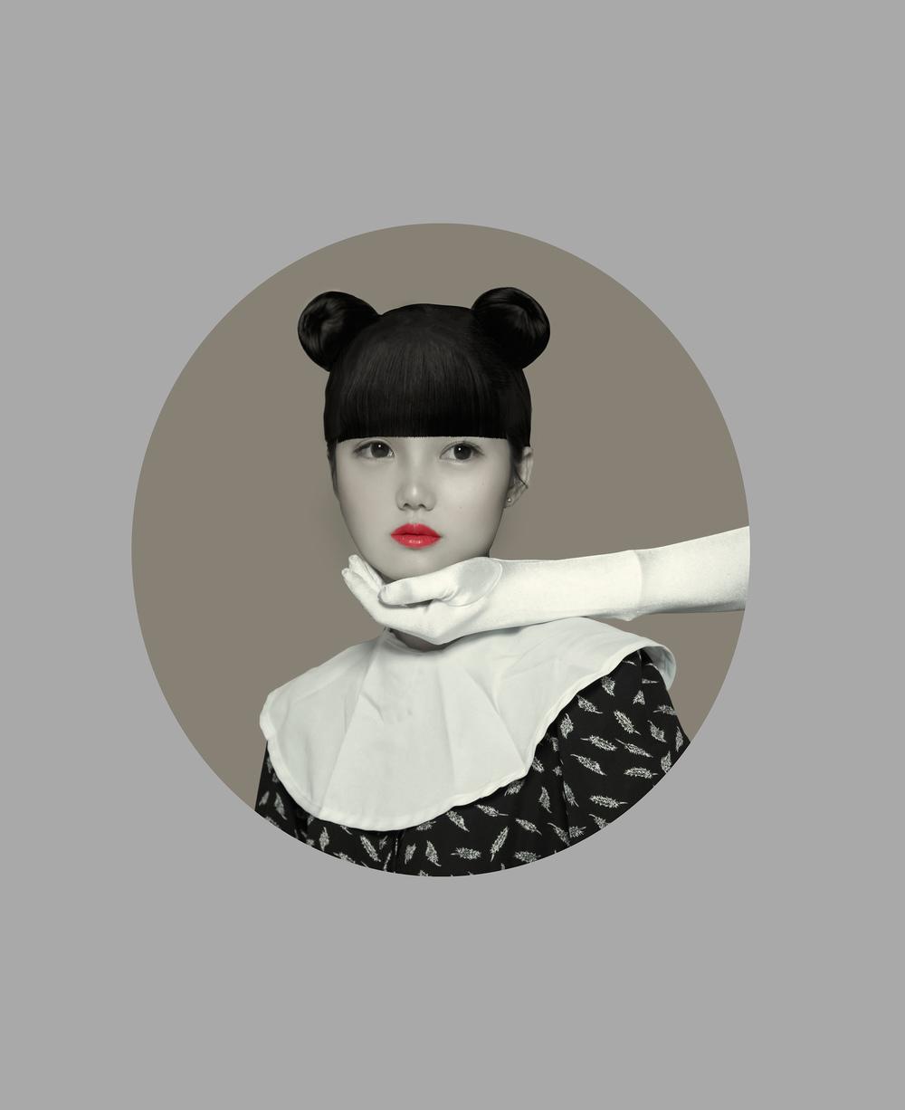 Imagination Portrait_7 , 2015 @Hailun Ma
