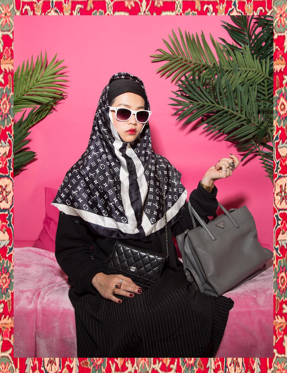 Muslim Girls_1 , 2014 @Hailun Ma