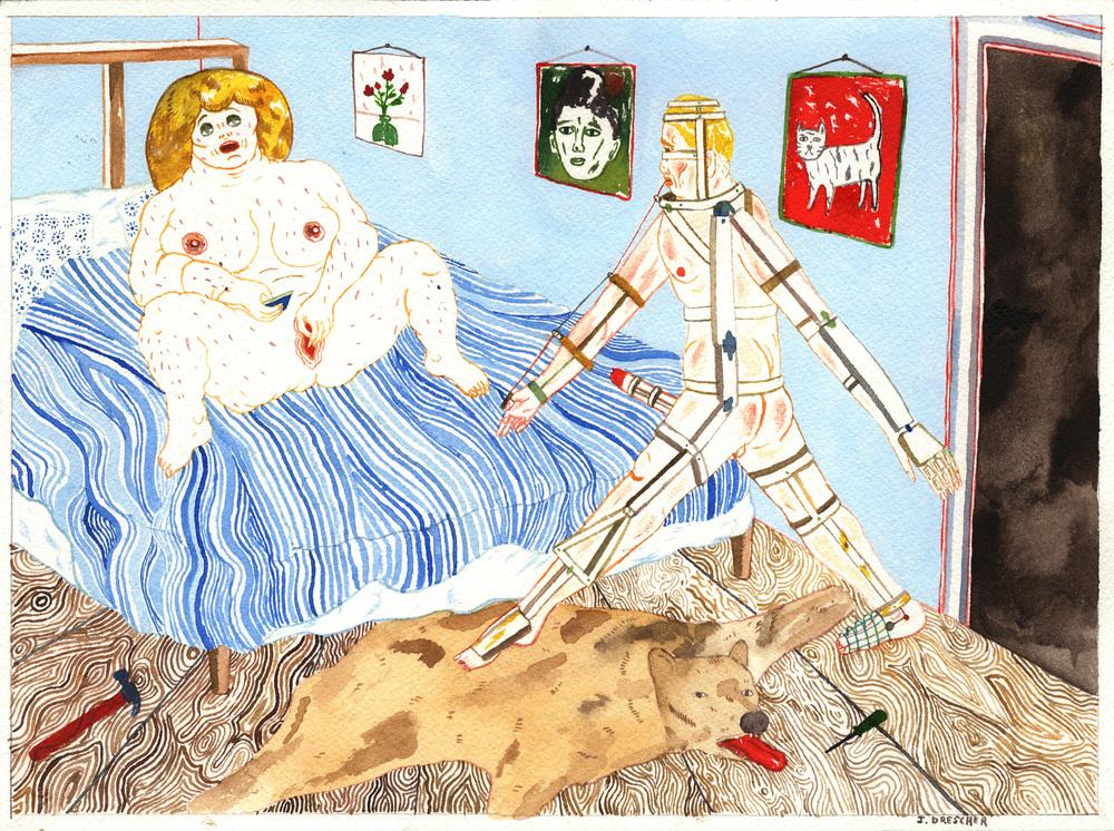 Sex scene 3 , 2016 @Joakim Drescher
