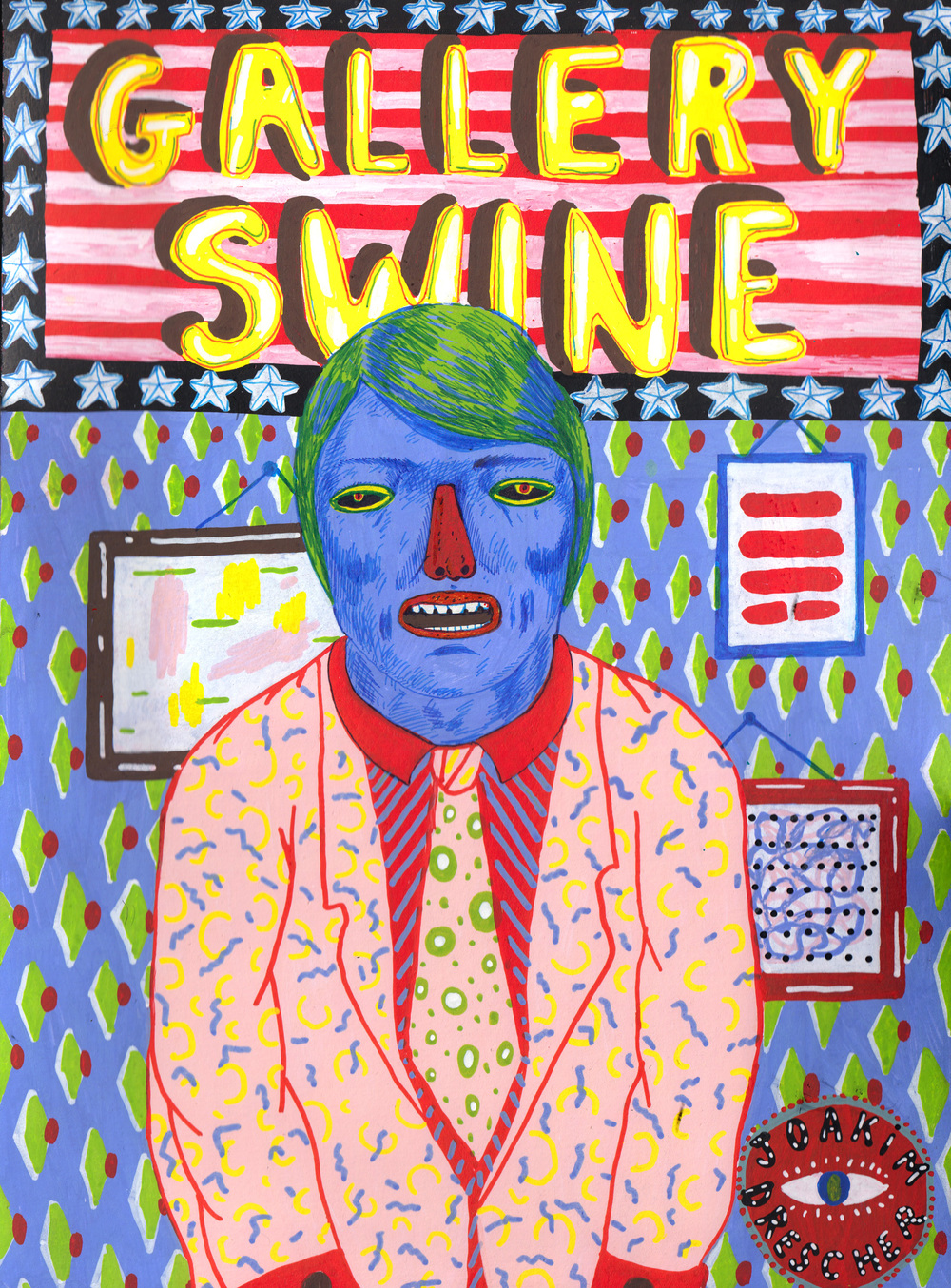 Gallery Swine , 2015 @Joakim Drescher