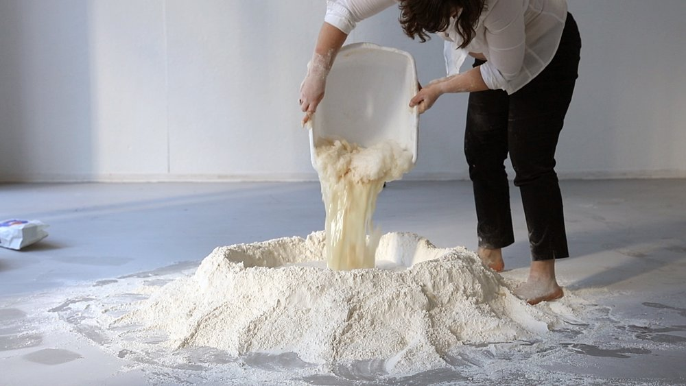 Untitled Dough Project (Kneading), 2015
