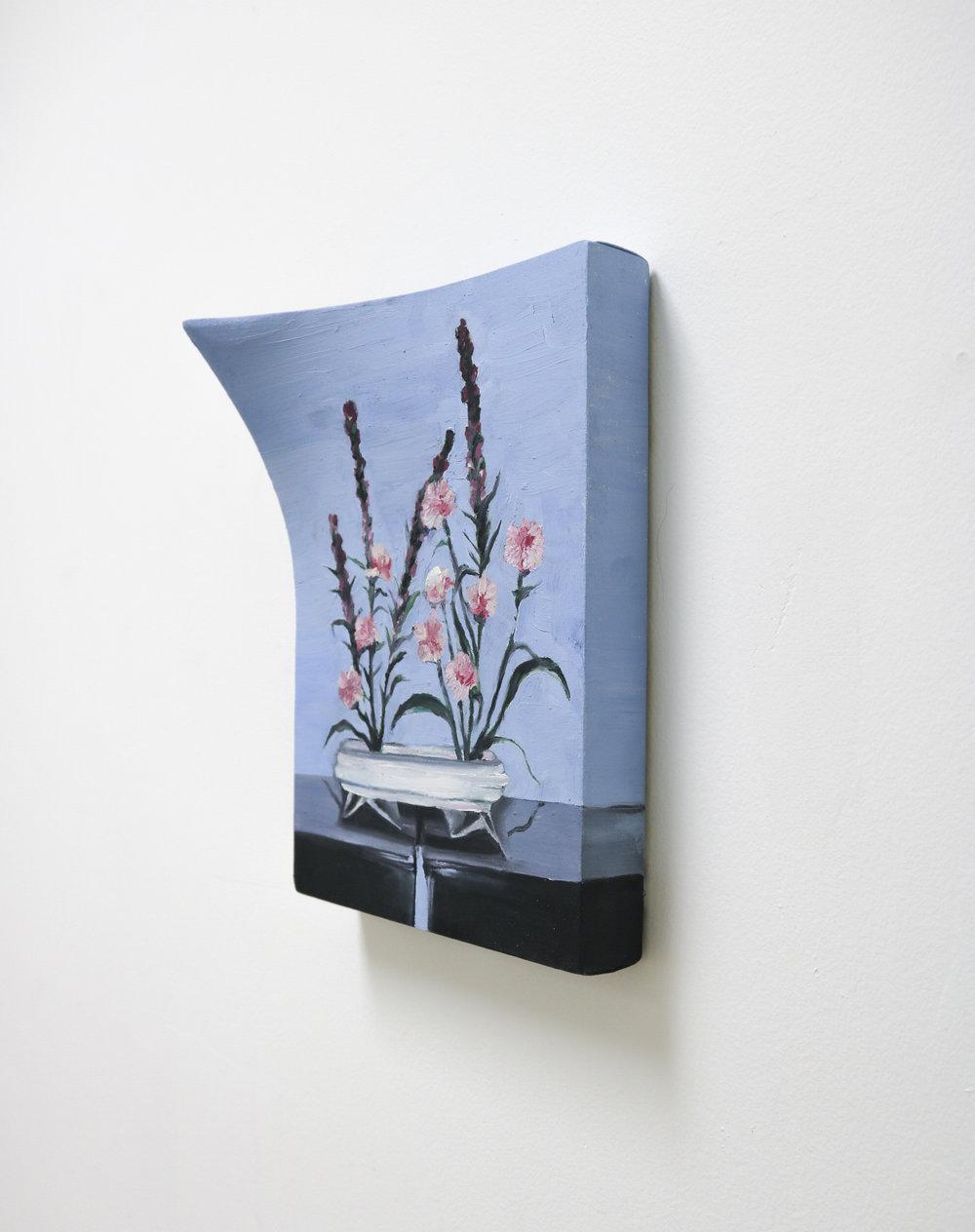 grandma's floral arrangement (bowed)