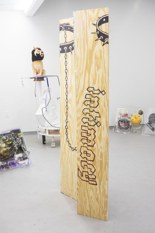 Big Dog Slobbers Mucho (back), 2018