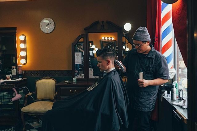 come get yourself freshened up with our talented barbers. www.lovingbarbers.com