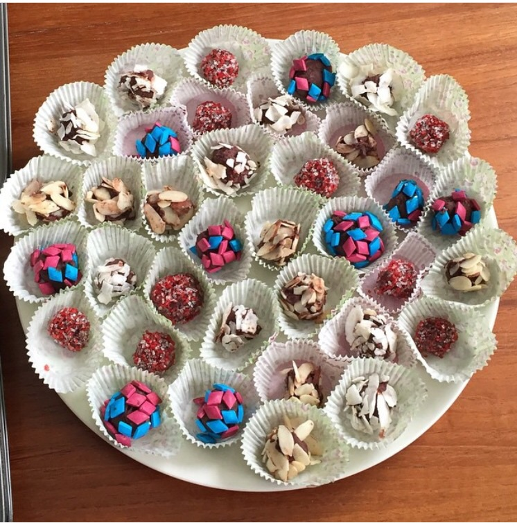 Chocolate Shoppe truffles from Fit Girls Guide Cookbook