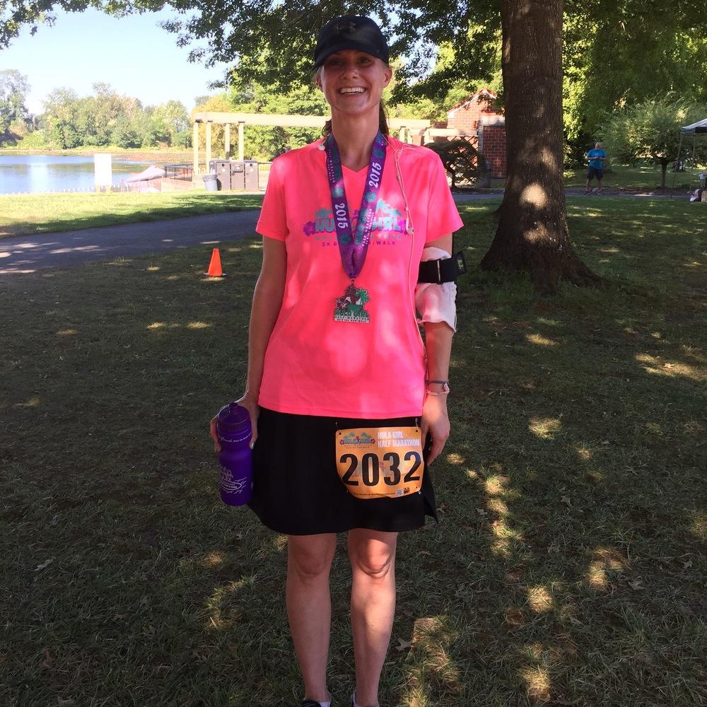 Hula Girl Half Marathon: 1:52:46