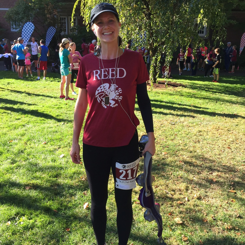 Reed College 5K: 23:09