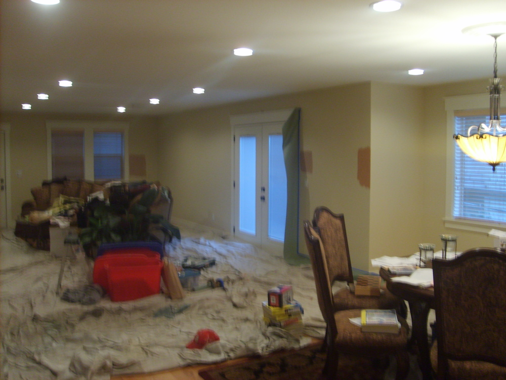 interior painting gig harbor before