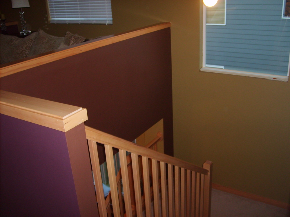 Interior repaint finished. Poulsbo