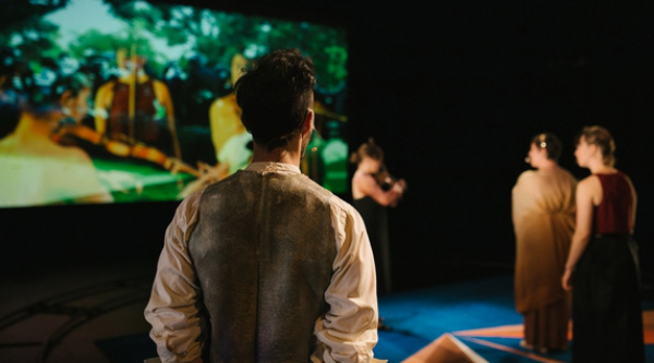 WAYFINDERS (2014), a performance work by Holcombe Waller